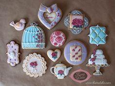 Vintage Cookies i made #cookies #vintage
