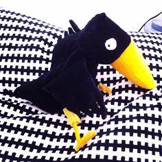 Crow 'psotny Franek' for my little Godson <3