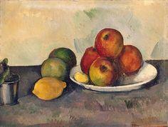 Paul Cezanne | Still Life with Apples | Circa 1890 ☆ Поль Сезанн | Натюрморт с яблоками | Ок. 1890; The State Hermitage museum, St Petersburg