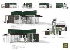 Modulaire koffie corner - Containerbouw