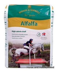 Dodson Horrell Alfalfa Oil Plus 18kg TYPE Chaffs Fibres WEIGHT VOLUME