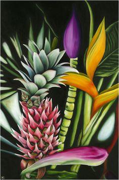 Anna Keay Fine Art Oil Paintings Maui Hawaii