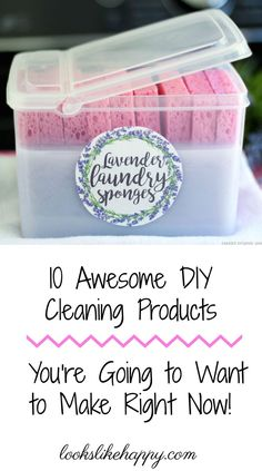 10 Awesome DIY Clean