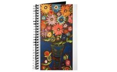 Colorful Happy Sunflowers Journal