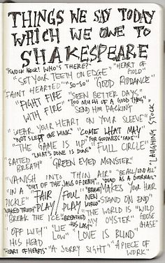 <3 Shakespeare