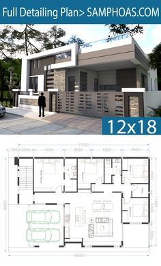 One Story House Plan 40x60 Sketchup Home Design - SamPhoas Plansearch