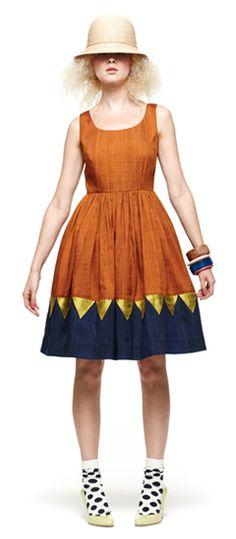Gorman from Australia.  Love the skirt design...patchwork?