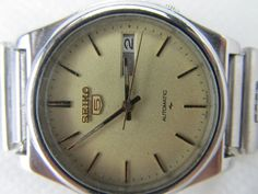 100% GENUINE VINTAGE RARE GENTS SEIKO 5 AUTOMATIC DAY-DATE7009 JAPAN WRIST WATCH #SEIKO5AUTOMATIC #LuxuryDressStyles