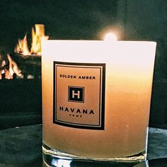 Golden Amber by the Fire at Sarah's House.  Try it today at www.havanahome.com.au