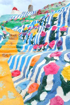 Salvation Mountain, Niland CA mi from Palm Springs) Oh The Places You'll Go, Places To Travel, Places To Visit, Travel Destinations, Slab City, Salvation Mountain, California Dreamin', Instagram Worthy, Adventure Is Out There