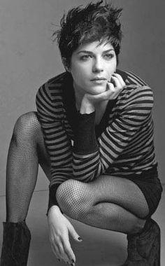Selma Blair - punk pixie