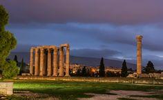 The ruins of Zeus Temple, Ancient Agora of Athens Parthenon, Acropolis, 3 Days Trip, Photo Mural, Olympians, Crete, Resort Spa, Seattle Skyline, Temple