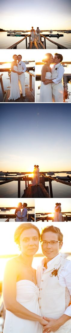 Real Wedding: Pamet Harbor Yacht Club - Truro, MA