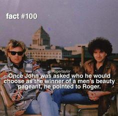 Queen Facts, Classic Rock And Roll, Queen Freddie Mercury, Queen Band, John Deacon, Killer Queen, Music Memes, I Am A Queen, Geek Girls