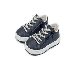 Βαπτιστικά sneakers δερμάτινα αγόρι Babywalker με φερμουάρ σε μπλε απόχρωση, Βρεφικά παπούτσια για αγόρι οικονομικά, Παιδικά παπούτσια αγόρι τιμές, Παπούτσια μωρού προσφορά-νέες παραλαβές Babywalker eshop τιμές High Tops, High Top Sneakers, Shoes, Products, Fashion, Moda, Zapatos, Shoes Outlet, Fashion Styles