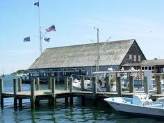 The Goodrich family - long time members. Edgartown Yacht Club, Martha's Vineyard, Cape Cod, Massachusetts