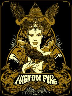 GigPosters.com - High On Fire - Ozenza