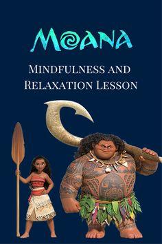 Moana Mindfulness lesson plan