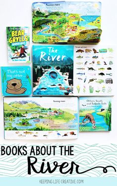 If you're teaching a unit on river habitats, or just need a good read, here are some of our favorite river books for kids. (Plus an extra river-themed surprise!)