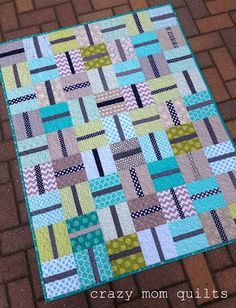 little connections quilt - crazy mom quilts