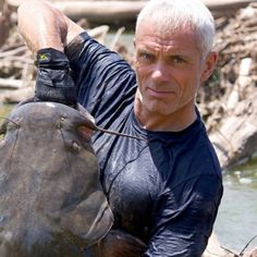 One of my other older man crushes... Jeremy Wade from River Monsters! British accents are magical.