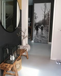 21 Ideas house decor rustic entryway for 2019 Interior Design Living Room, Living Room Designs, Living Room Decor, Bedroom Decor, Rustic Entryway, Entryway Decor, Dark Interiors, Hallway Decorating, Easy Home Decor