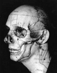 Katherine Du Tiel, Skull/Head (Inside/Outside), 1994
