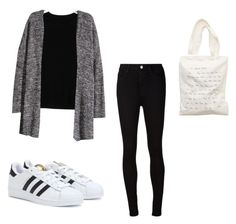 """""""Birthday ootd"""" by daisychains7 ❤ liked on Polyvore featuring adidas, Isabel Marant, H&M, Aerie and AG Adriano Goldschmied"""