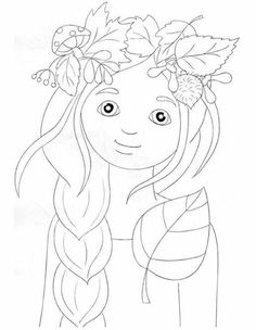 Doodle Coloring, Colouring Pages, Coloring For Kids, Adult Coloring, Coloring Books, Autumn Crafts, Autumn Art, Art Education Lessons, Art Lessons