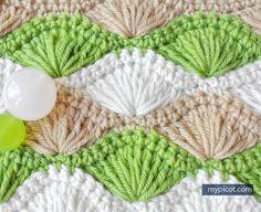 MyPicot | Long Loop Shell Stitch | 2015 | Free crochet patterns