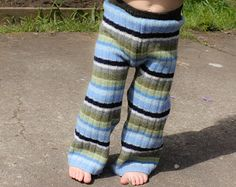 Wool Diaper Cover 18 24 Months 2t 3t Upcycled Woolies Pants Medium Soaker Blue Longies Cloth Repurpose Nappy Hippie Organic Natural Clothing
