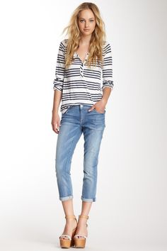 7 For All Mankind Skinny Crop & Roll Jean by 7 For All Mankind on @nordstrom_rack