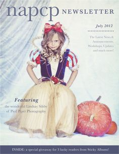 National Association of Professional Child Photographers July 2012 Newsletter cover