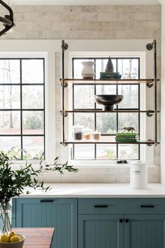 From open shelves in the kitchen to custom cabinetry in the master closet, HGTV Smart Home 2018 makes staying organized practically effortless. See how these different storage solutions clear up space and maximize functionality. - Home Decor Rustic Kitchen Decor, Home Decor Kitchen, Home Kitchens, Country Kitchen, Kitchen Ideas, Design Kitchen, Kitchen Industrial, Cheap Kitchen, Small Condo Kitchen