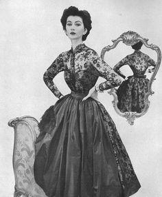 Dovima Fashion Model   Via Rachel Kerr