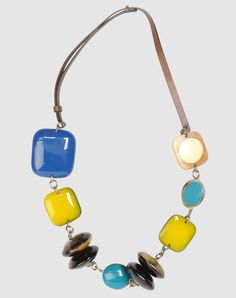 I found this great MARNI Necklace on yoox.com. Click on the image above to get a coupon code for Free Standard Shipping on your next order. #yoox