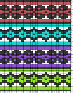 Tricksy Knitter Charts: untitled chart