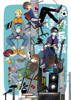 Youtubers, Comic Books, Japan, Comics, Anime, Amor, Comic Strips, Japanese Dishes, Comic Book
