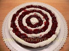Schwarzwaldský višňový dort – Maminčiny recepty Red Velvet, Cake, Anna, Food, Recipes, Kuchen, Essen, Meals, Torte