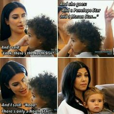 When she delivered this low-key shade, but Kourtney and Penelope were having none of it. | The 33 Most Kim Kardashian Things That Happened In 2015