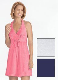 Terry Halter Romper - Women's Sizes Carol Wright Gifts. $6.49
