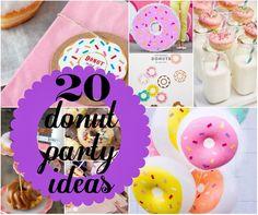 20 Donut Party Ideas