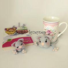 Leithygurumi: Amigurumi English Cat Mug Rug and Cat Bookmark Pattern by Desing_byZeynep