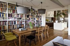 Small Office, Home Office, Workspace Design, Warm And Cozy, Building A House, Bookcase, Sweet Home, Living Room, Interior Design