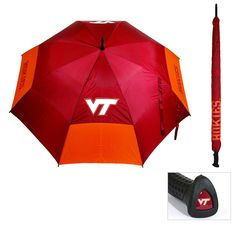 Virginia Tech Hokies NCAA 62 inch Double Canopy Umbrella