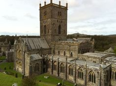 St David's Cathedral- Went here while in Wales