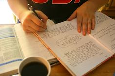 Journaling. Omg! Do this before any kind of test or interview and you'll be able to think!!!