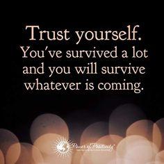 Gostava de ser mais confiante... há coisas da vida e certas pessoas que têm o dom de nos fazer perder essa confiança nem que seja temporariamente... :-(