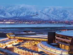 Salt Lake City Airport, Salt Lake City Utah, Image Review, Image House, International Airport, Aviation, Beautiful Places, America, World