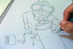 Spray all you up!  illustration, drawing, art, grafitti, graphic, spray